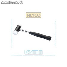 Martillo metalico 600 gr. con bocas de nylon 34 mm - ALYCO - Ref: 196