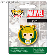 Marvel Comics POP! Pins Chapa Loki
