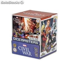 Marvel Dice Masters Civil War - Gravity Feed [Inglés] [90 Boosters]