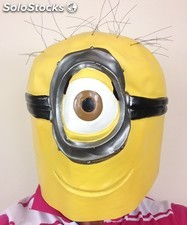 Mascara de latex Minions
