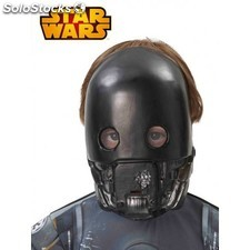 Máscara K-2SO Star Wars infantil