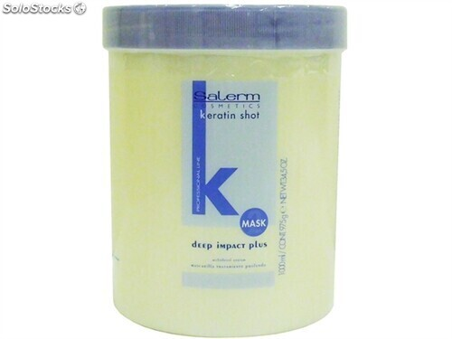 Mascarilla Capilar Deep Impact Keratin Shot 1000 ml Salerm