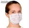Mascarilla desechable rectangular 3 plg. 50 unidades