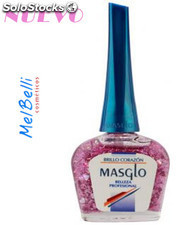 Masglo brillo corazon de esmalte 13.5 ml.
