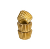 Mason cash mc 60 gold foil mini cupcake cases
