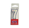 "Mason cash mc number ""7"" candle with plastic pick"
