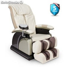 Massagesessel ANANDA (neues Modell 2017) - Weiß - 4 YEARS Extended Warranty