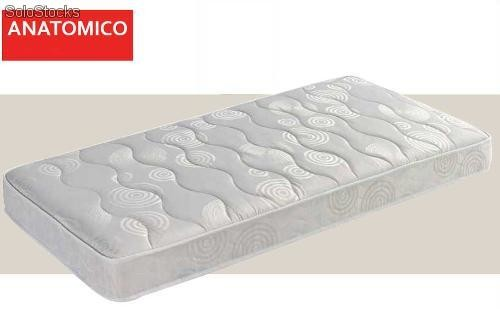 matelas anatomique 190x90 avec noyau ecopur. Black Bedroom Furniture Sets. Home Design Ideas