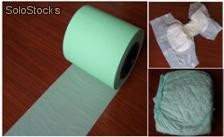 material for baby diaper and sanitary napkin