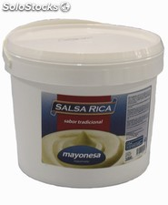 Mayonesa cubo 3,600 ml