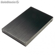 "MCL - 8DM1-USB3 HDD enclosure 2.5"""" Negro recinto de almacenaje"