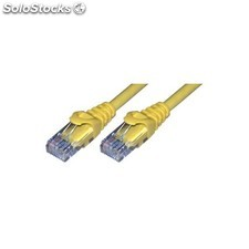 MCL - Cable Ethernet RJ45 Cat6 7 m Yellow 7m Amarillo cable de red