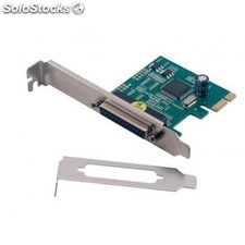 MCL - Carte PCI express parallèle - 1 port DB25 femelle (normal + LP) Interno