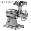 Meat mincer 22/te - (removable mincing set) - stainless steel set - three phase