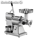 Meat mincer/ grater 12/t - stainless steel mincing set - three phase - power hp