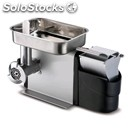 Meat mincer/grater - mod and 8 - with gear - anodized aluminium structure -