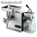 Meat mincer/grater - mod mic 12 - with gear - anodized aluminium structure -