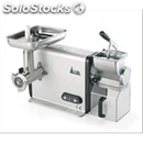 Meat mincer/grater - mod mic 22 - with gear - anodized aluminium structure -