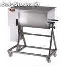 Meat mixer mod 75c1p - three phase - mixture capacity 75kg - 1 paddle - power hp