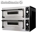 Mechanical electric oven for pizza-mod. basic xl22l-# 2 rooms-floor in