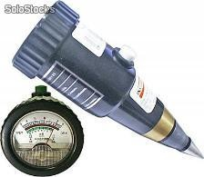 Medidor de ph e umidade do solo - instrutherm - ph-2500
