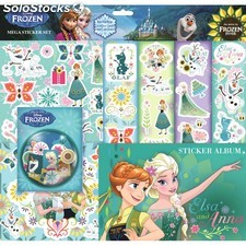 Mega Sticker Set la reine des neiges