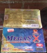 Megas'x Activador Intimo Sexual Natural Megas'x Doble Accion