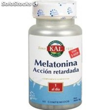 Melatonina 1,9MG con 5-htp 50MG accion retardada 60 comp kal
