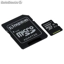 Mem micro sd 128GB kingston CL10 GEN2 + adapt sd