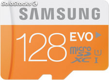 Mem micro sd 128GB samsung evo CL10 + adapt sd