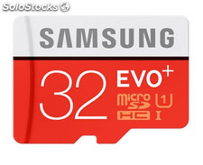 Mem micro sd 32GB samsung evo+ CL10 + adapt sd