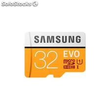 Mem micro sd 32GB samsung evo CL10 adapt sd