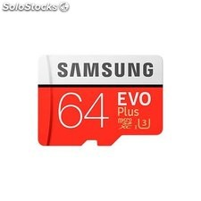 Mem micro sd 64GB samsung evo CL10 adapt sd
