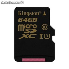 Mem microsd gold 64GB kingston uhs-i CL3(U3) PGK02-A0014124