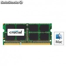 Memoria crucial 4gb - ddr3-1066 - PC3 8500 - sodimm - cl7 - 204 pin - 1.5v
