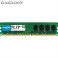 Memoria crucial CT25664AA800 2GB DDR2 800MHz PC2-6400 CL6