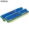 MEMORIA DDR3 2(2X1)GB PC3-12800 1600MHZ KINGSTON HYPERX BLU KHX1600C9AD3B1K2/2GB