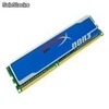 MEMORIA DDR3 2GB PC3-12800 1600MHZ KINGSTON HYPERX BLU KHX1600C9AD3B/2GB