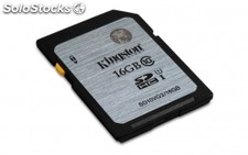 Memoria kingston 16GB sdhc CLASS10 uhs-i 45MB/s read