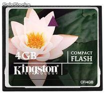 Memoria Kingston Compactflash 4GB CF/4GB