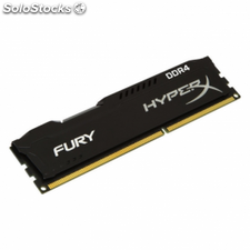 Memoria kingston hyperx fury hx424c15fb2/8 - 8gb - ddr4 - 2400mhz -