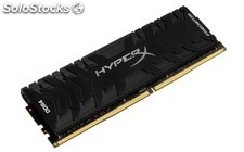 Memoria kingston hyperx predator DDR4 8GB 2400MHZ CL12 xmp PMR03-862621