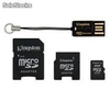 Memoria Kingston Micro SD 2 GB MULTIKIT MBLYG2/2GB