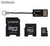Memoria Kingston Micro SD 4 GB MULTIKIT MBLYG2/4GB