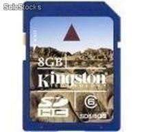 Memoria Kingston SD 8 GB SDHC CLASS 6 SD6/8GB
