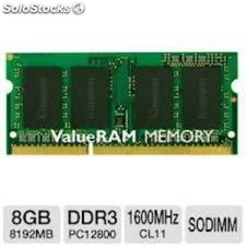 Memoria kingston sodimm DDR3 8GB 1600MHZ CL11