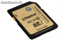 Memoria kingston tarjeta sd 16GB sdhc clase 10 uhs-i