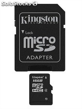 Memoria micro sd 16GB clase 4KINGSTON