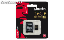 Memoria micro sd 16GB kingston gold uhs-i