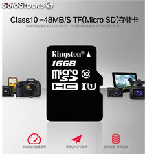 Memoria Micro Sd Hc 16gb Kingston class 10